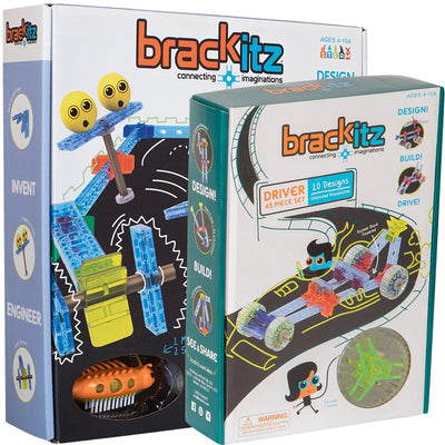 90 pc Brackitz STEM Ultimate Driving Building Toy - Brackitz