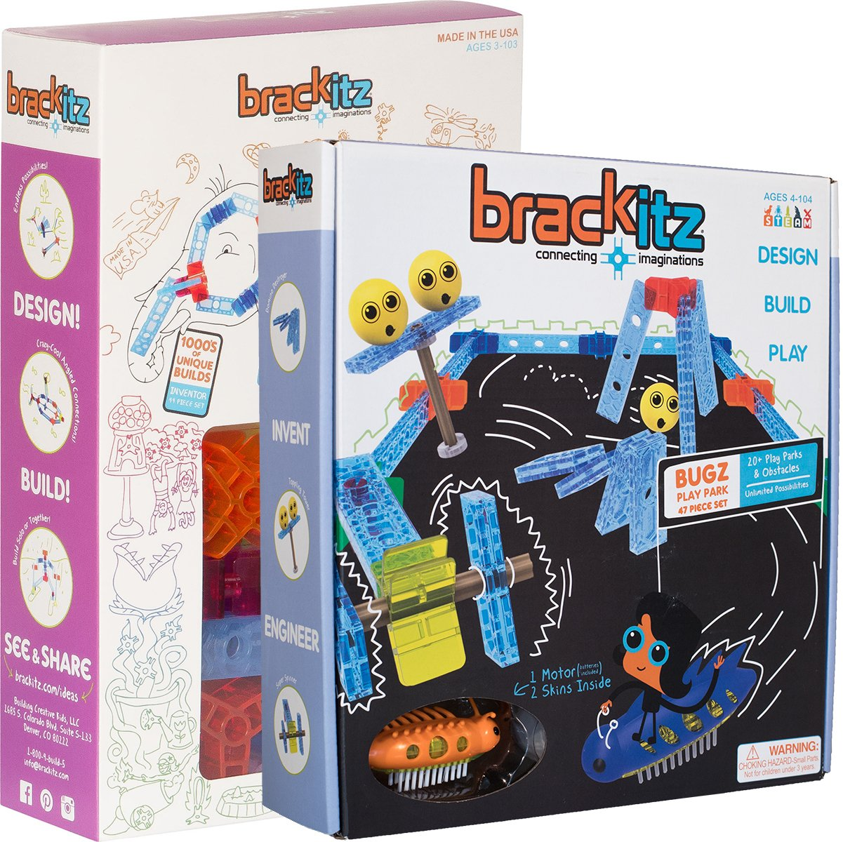 Bugz STEM Challenge 91-Piece Set