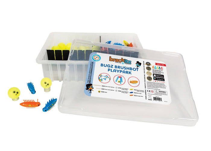 Bugz Brushbot 206-Piece Set