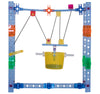 Build Big! Simple Machines Pulleys & Wheels 90-Piece Set