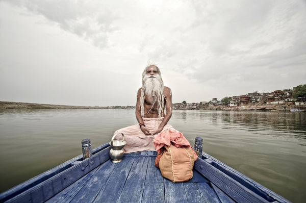 Baba On Boat | Series By Aman Chotani