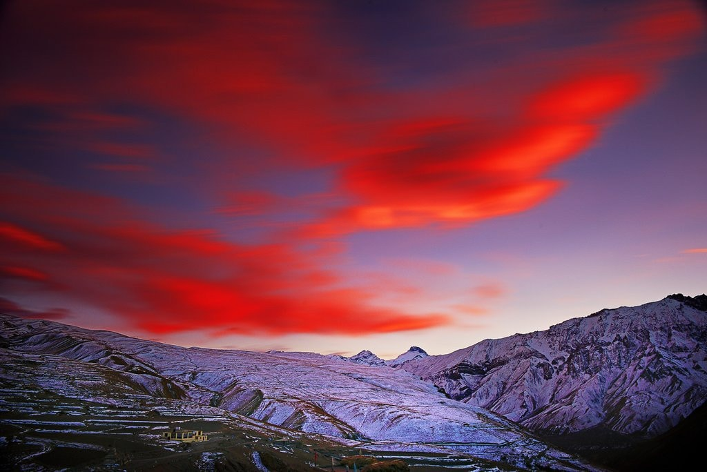 Red Sky By Jagjit Singh