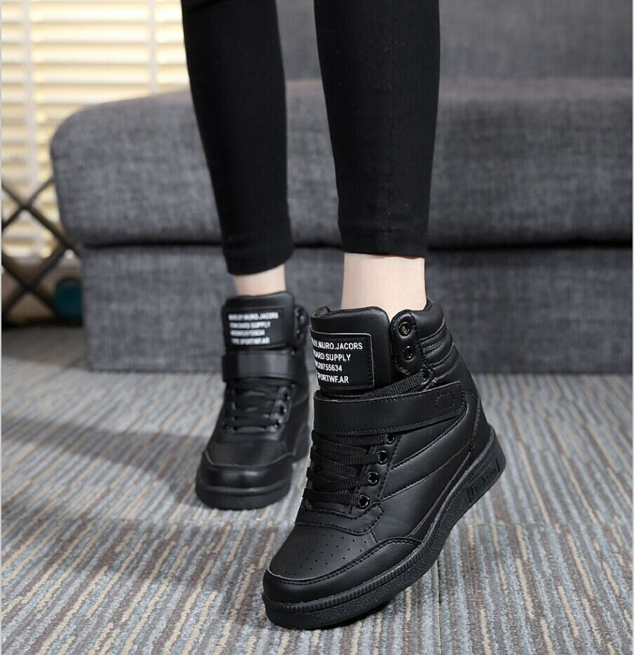 Casual Height Increasing Wedge High Top's