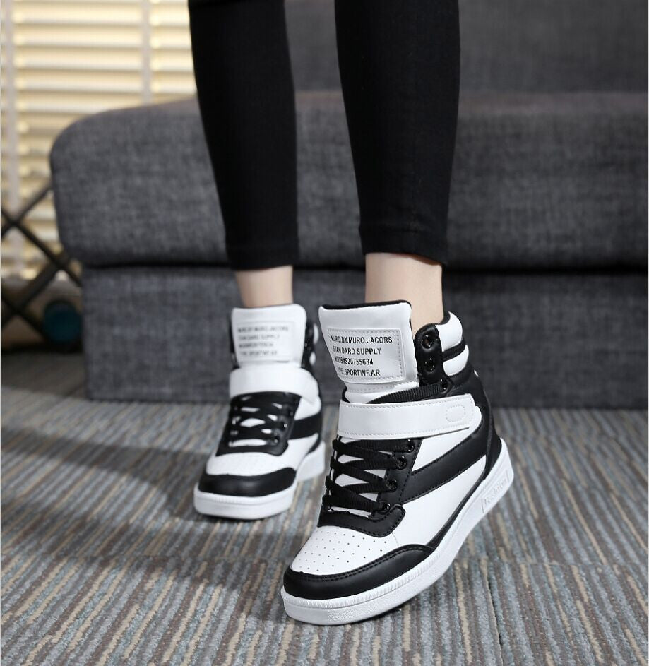 Casual Height Increased Wedge High Top - TUFOR JAYS