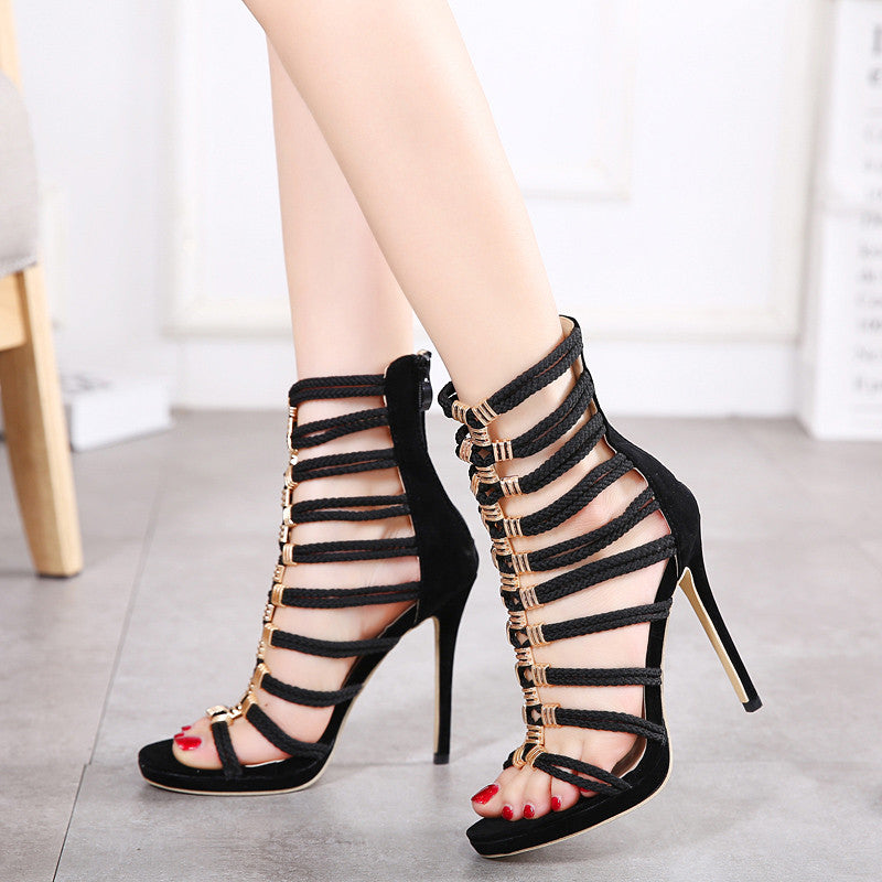 New Style Roman Stiletto Pumps