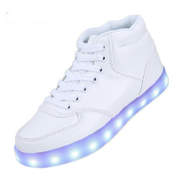 2016 LED Light Up Couples Casual Shoes - TUFOR JAYS