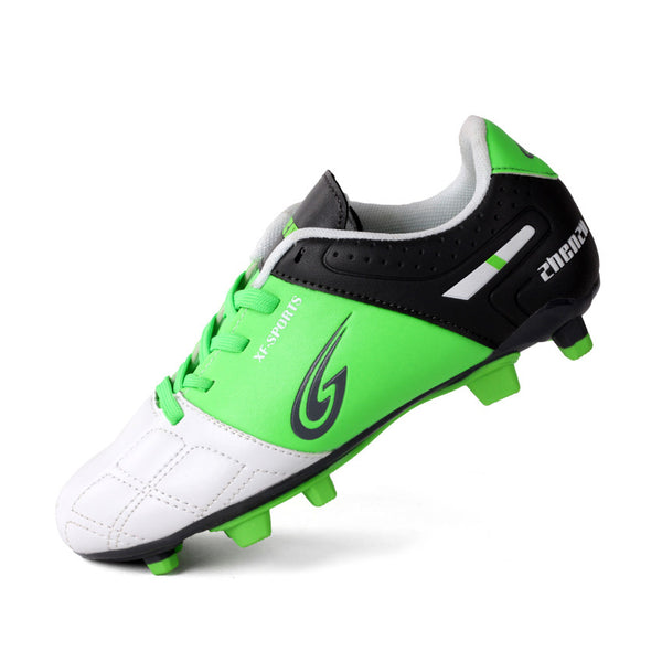 Boys Long Nail  Soccer Professional Training Shoes For Kids