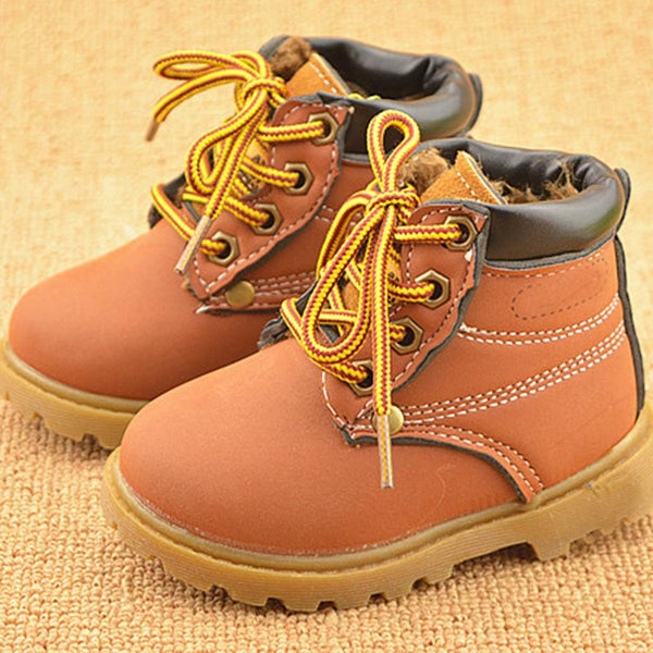 Winter Autumn low short baby boys Boot's