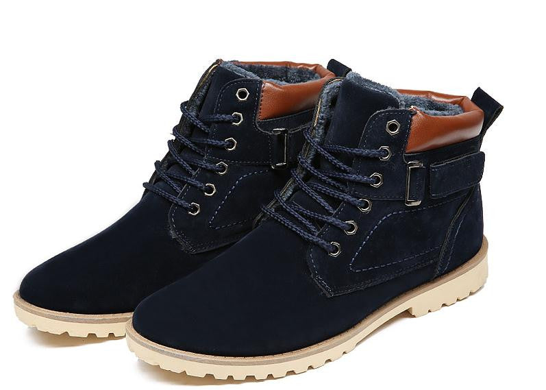 Men's Winter Fashion High Top Cotton Boots - TUFOR JAYS