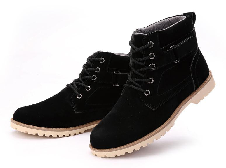Men's Winter Fashion High Top Cotton Boots