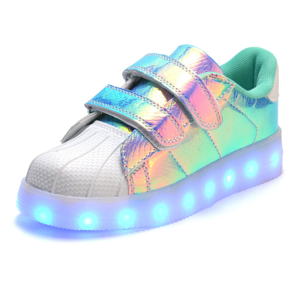 TOP Fashion LED USB Charging Luminous Lighted Casual Sneaker's