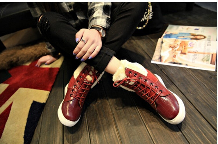 Brand Winter Thick Fashion Fur Boots