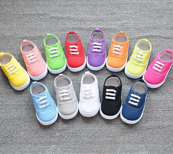 candy solid colors shoes for baby boys - TUFOR JAYS