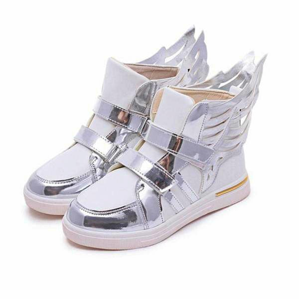 2017 Fashion Butterfly Wings High Top Sneakers