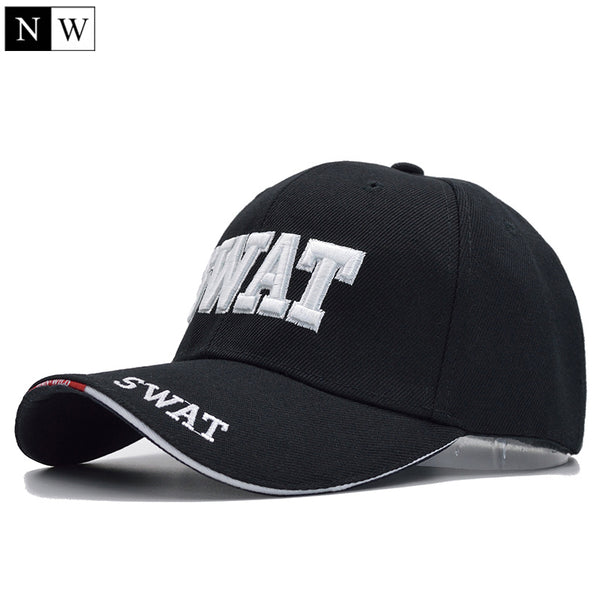 Tactical SWAT Brand Snap-back Cap