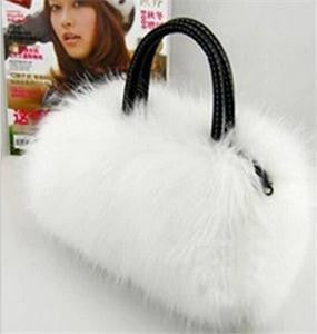New Fashion Women Plush Autumn Winter Handbag