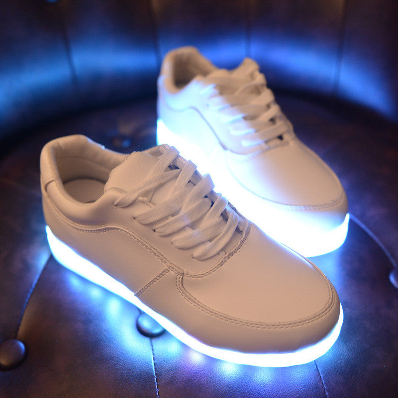 LED Light Up Casual Sneaker AF-1 Style