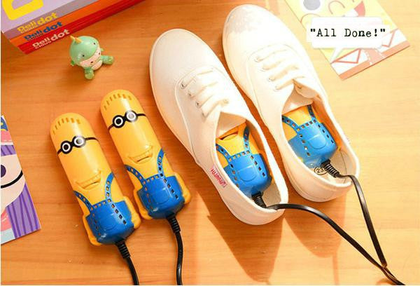 Creative Appliance Cute Cartoon Minions Shoe Deodorizer