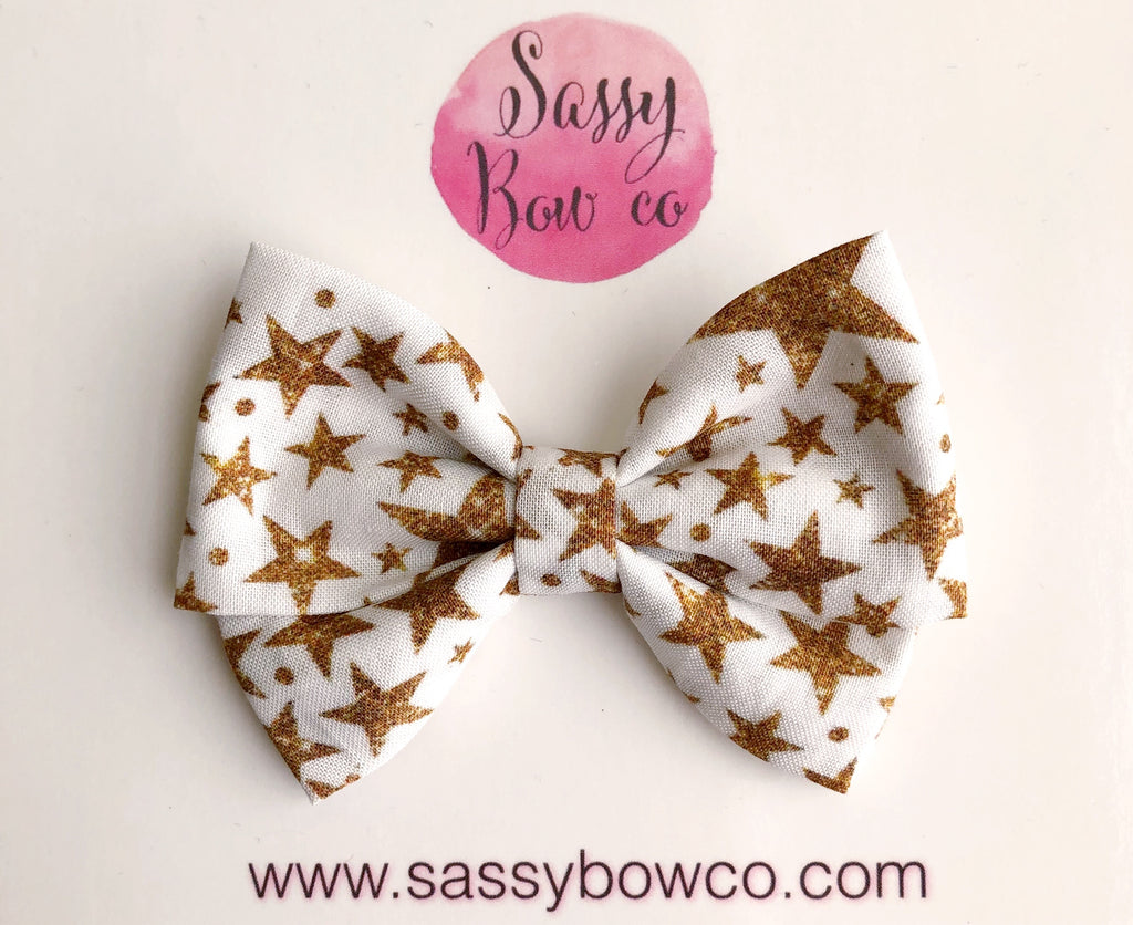 Twinkle Twinkle Little Star Madi Cotton Bow