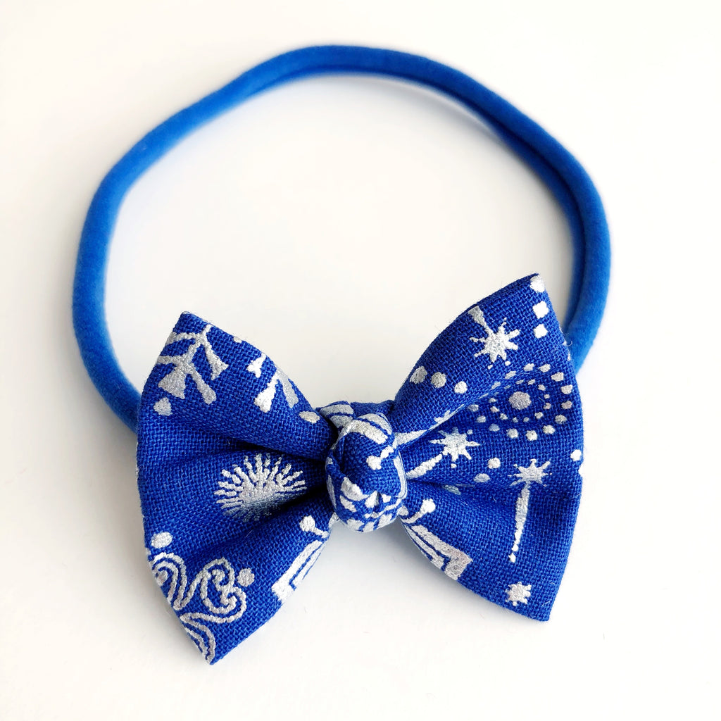 "Starry Night 2"" Chloe bow"