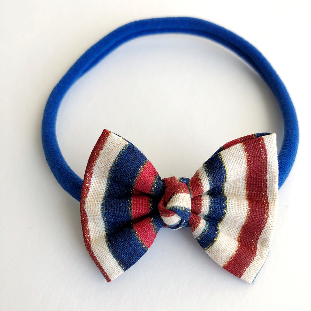 "American Stripes 2"" Chloe bow"