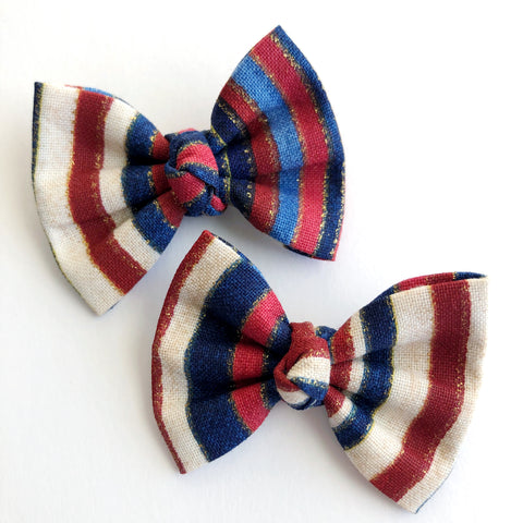 "American Stripes 2"" pigtail set"