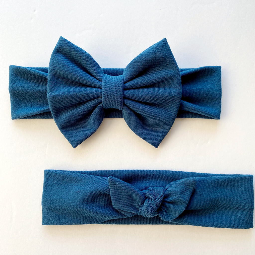 Peacock Blue Headbands