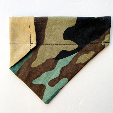 Camo Reversible Dog Bandana