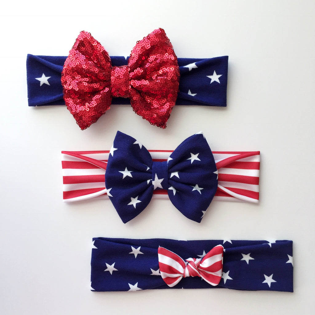 Stars & Stripe Headbands