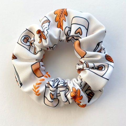 Pumpkin Spice Latte Scrunchie