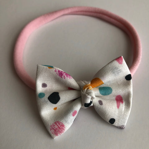 "Fall Dottie 2"" Chloe bow"