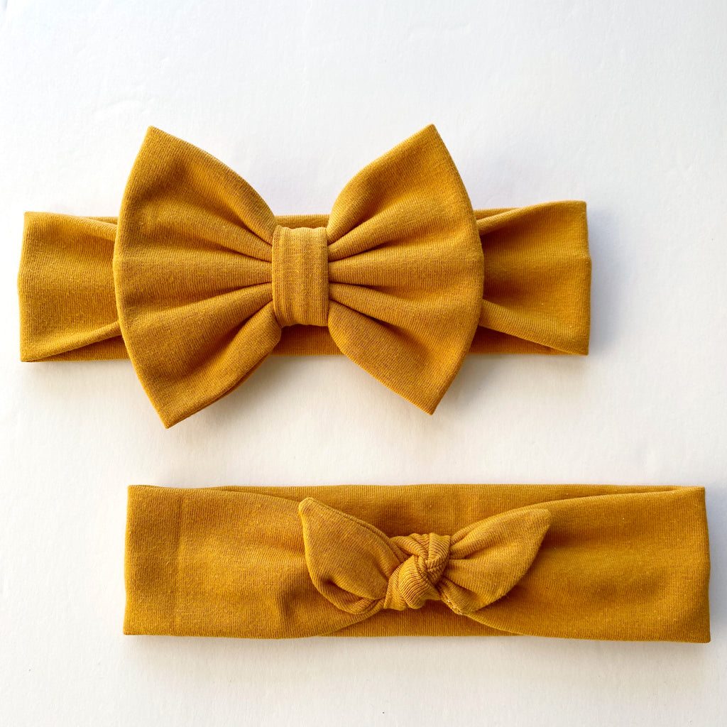 Mustard Yellow Headbands