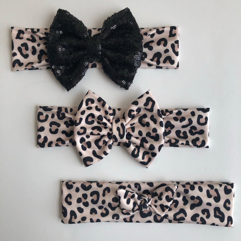 Snow Leopard Headbands