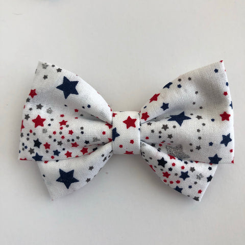 Sparkle Star Madi Cotton Bow