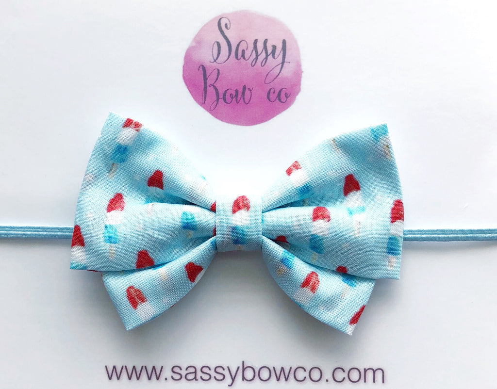 Bomb Pop Madi Cotton Bow