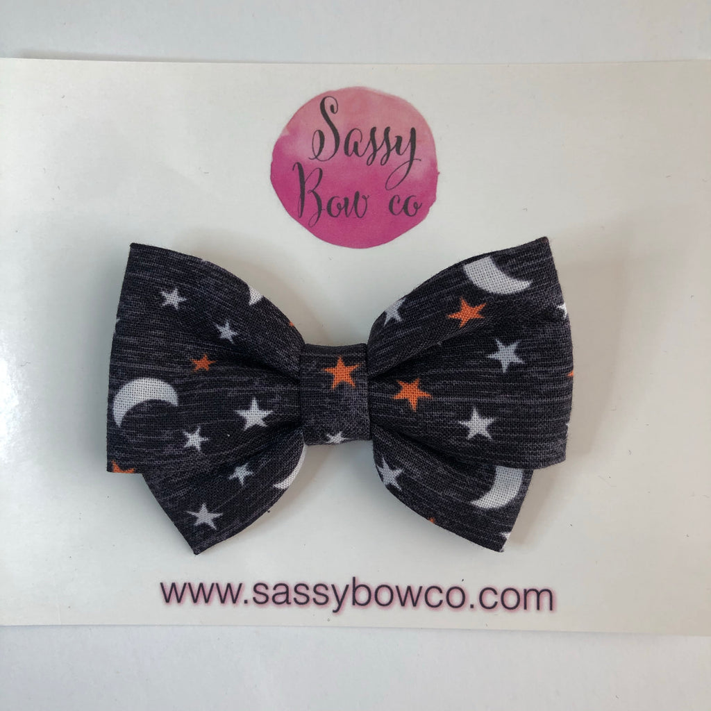 Star & Moon Madi Cotton Bow