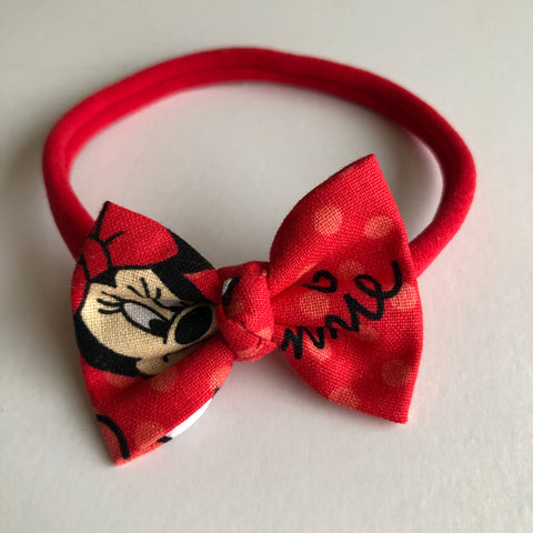 "Minnie Face 2"" Chloe bow"