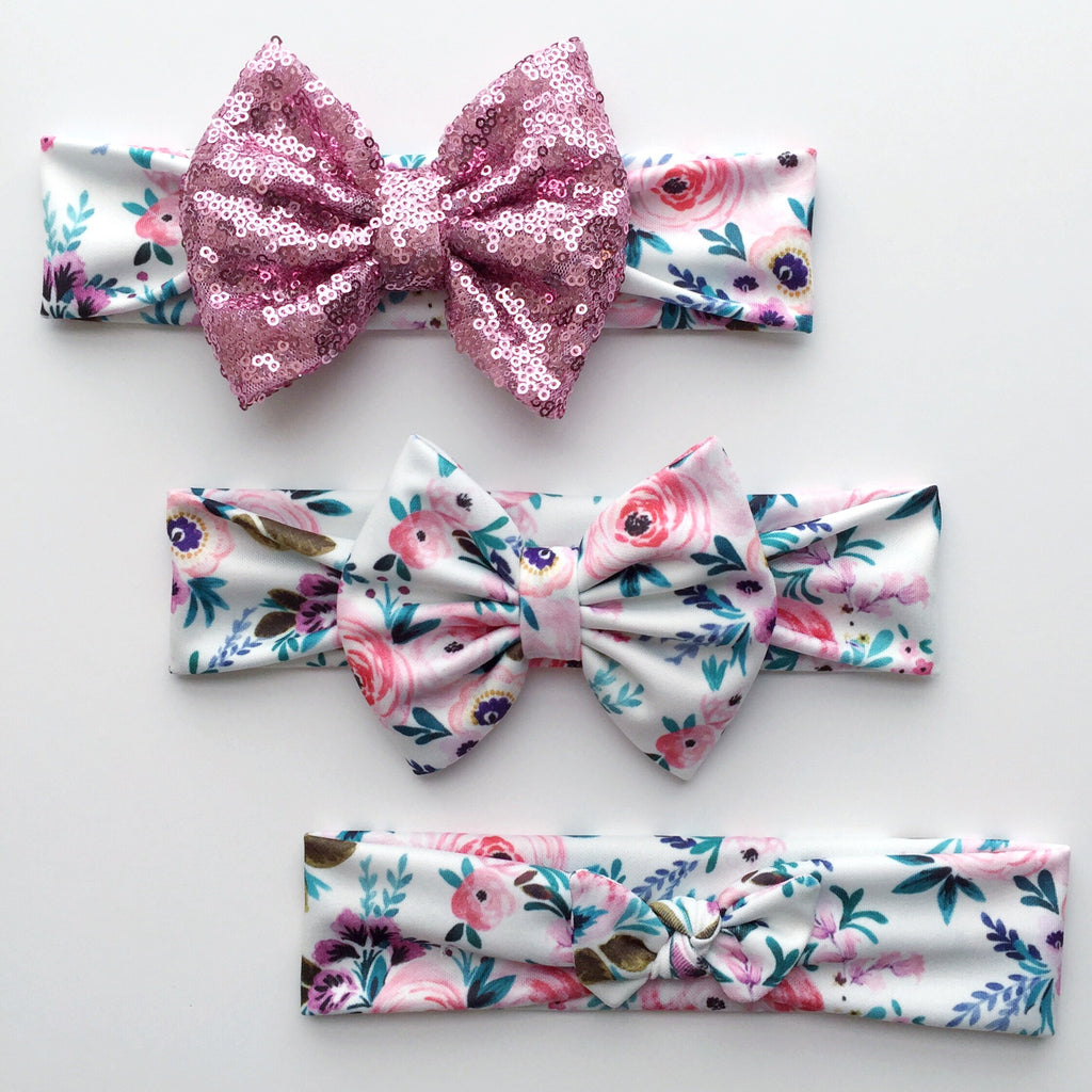 Orchard Floral Headbands