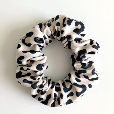 Snow Leopard Scrunchie