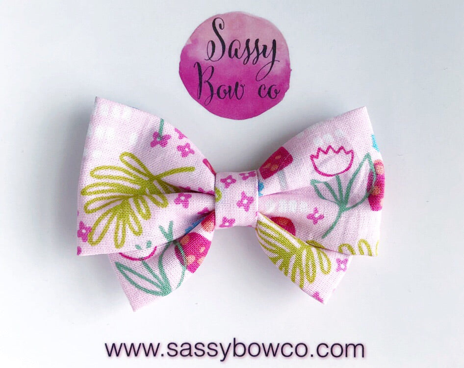 Spring Meadow Madi Cotton Bow