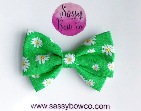 Daisy Madi Cotton Bow