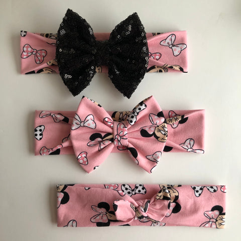 Minnie Bow Headbands