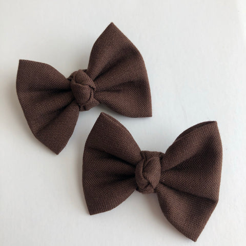 "Chocolate 2"" pigtail set"