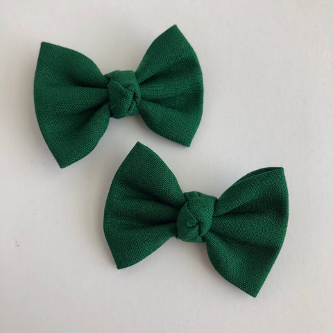 "Forest Green 2"" pigtail set"