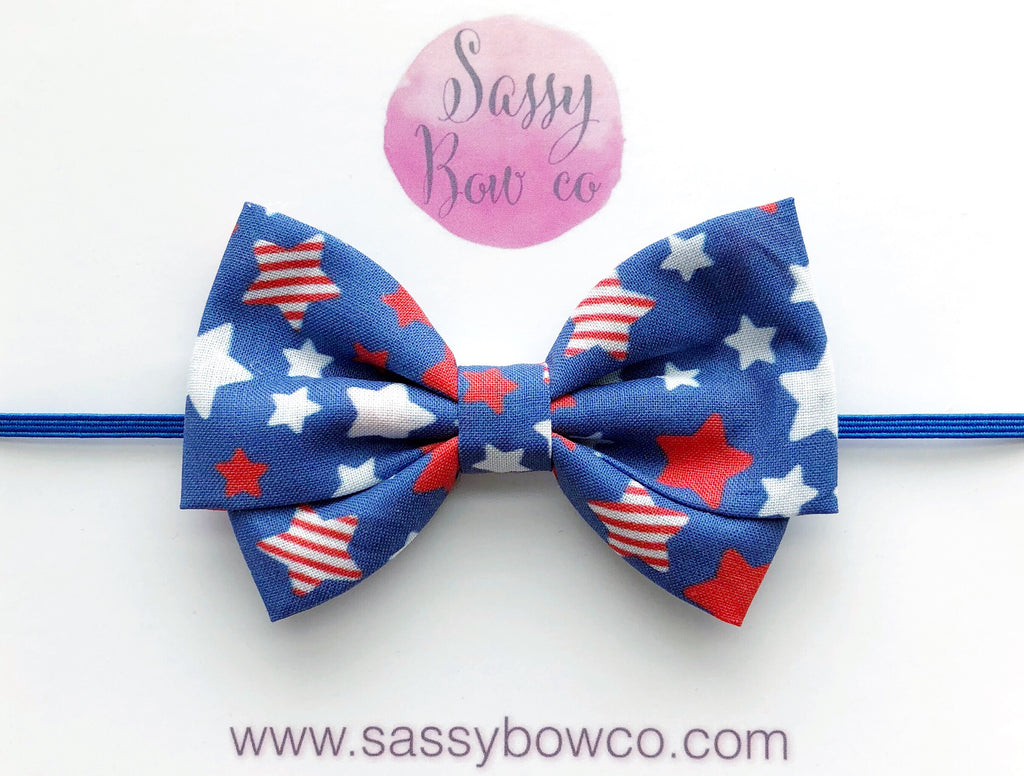 Kaboom Stars Madi Cotton Bow