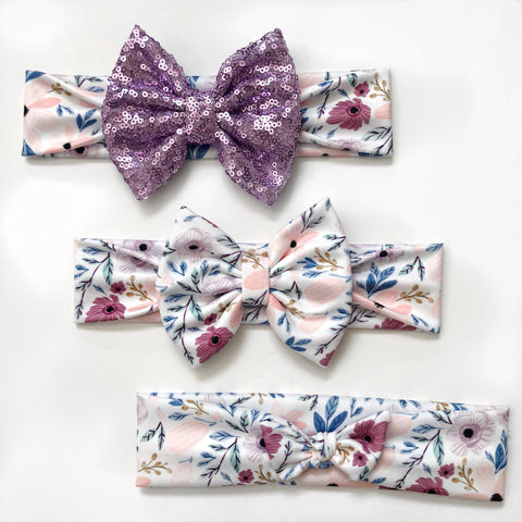 Twiggy Floral Headbands