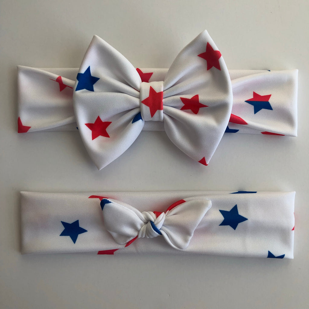 Red & Blue Stars Headbands