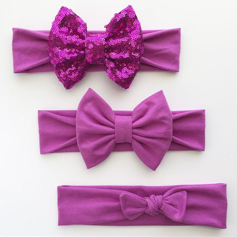 Orchid Headbands