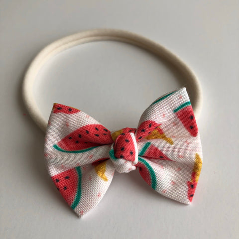 "Watermelon 2"" Chloe bow"