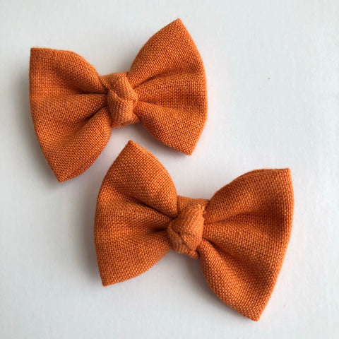 "Harvest Orange 2"" pigtail set"